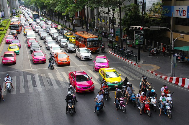 taxi i bangkok